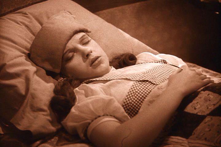 Dorothy sleeping